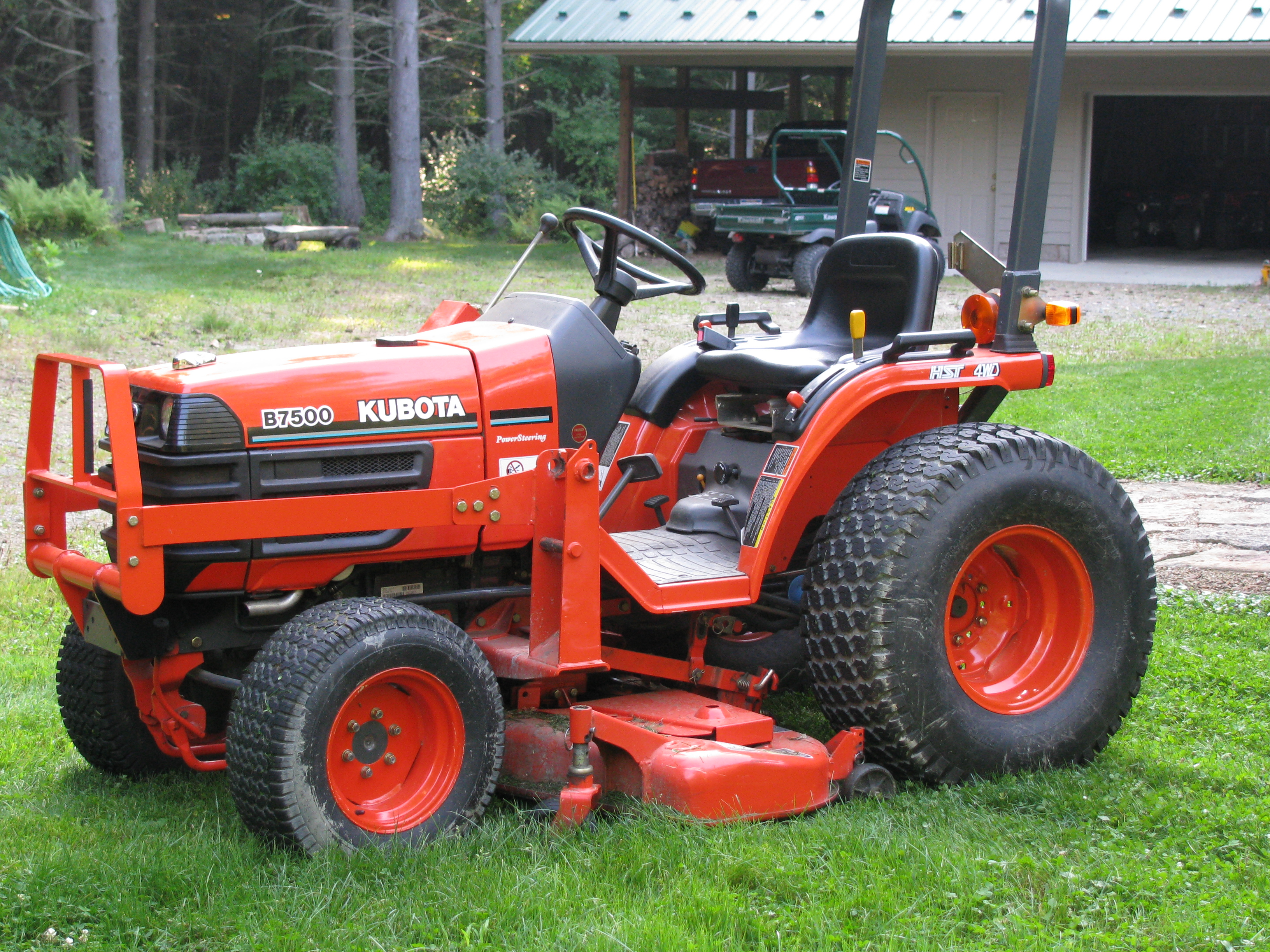 Kubota Manual Kubota B7500hsd Tractor Master Parts Manual