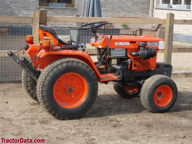 Kubota B4200d Tractor Master Parts Manual Download
