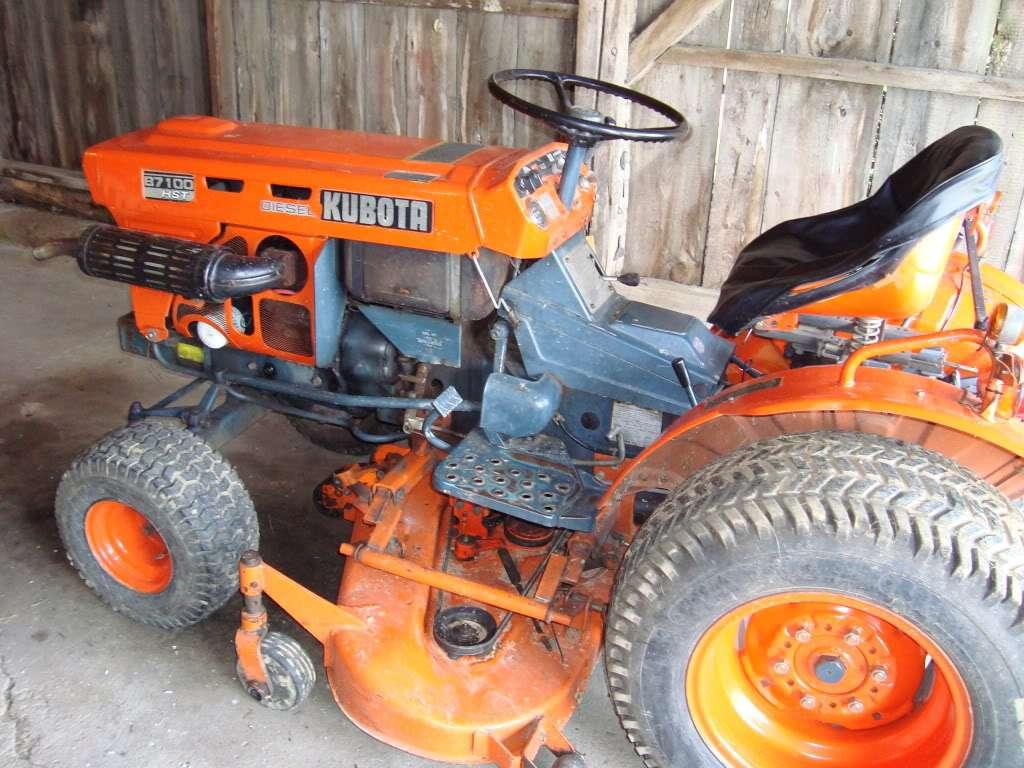 Kubota B7100hst E Tractor Service Manual Download Manual Guide