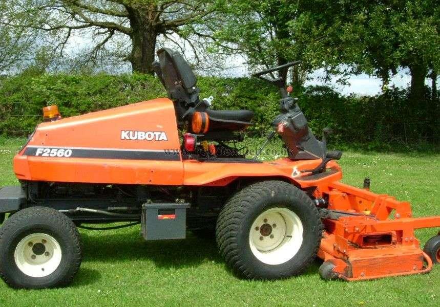 Kubota F2560 Mower Master Parts Manual Download - Kubota Manual on
