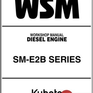 Kubota Z482-E2B Diesel Engine Service Manual Download