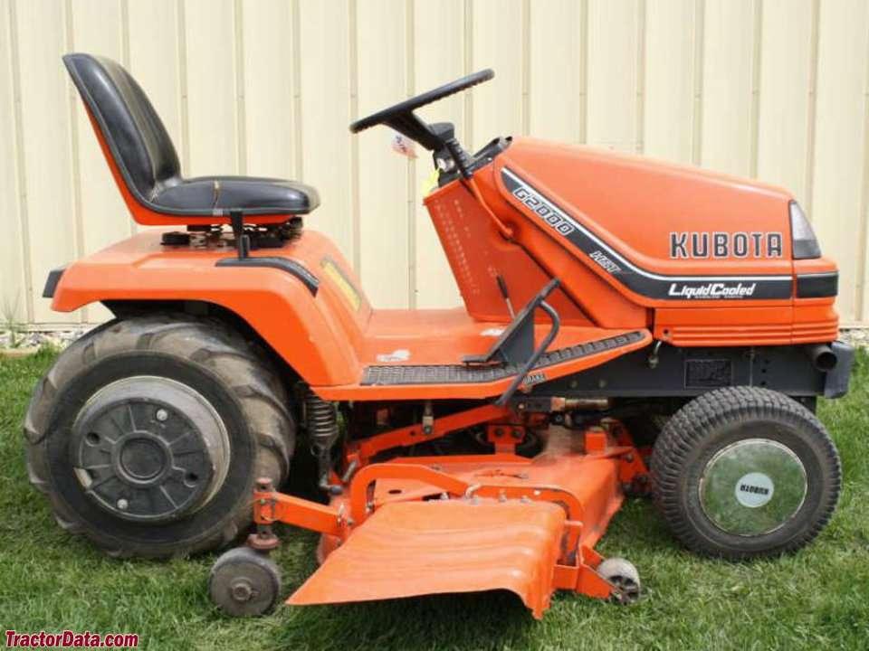 Kubota Tractors Parts G2000 : Kubota manual g mower master parts