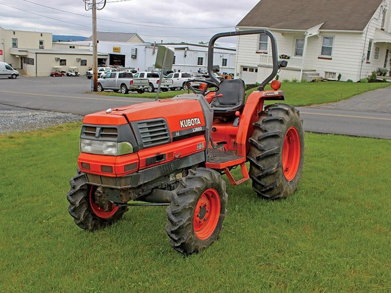 Kubota L3600 Tractor Service Manual Download - Kubota Manual