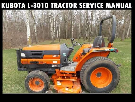 Kubota L3010 Tractor Service Manual Download Manual Guide